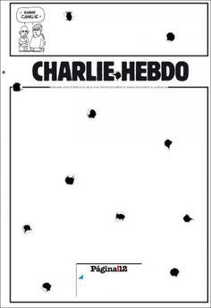 EN IMAGES • Attentat contre Charlie : les unes de la presse étrangère   Courrier international