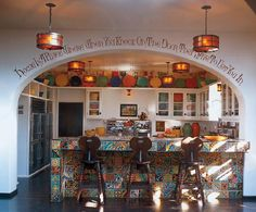 Diane Keaton can design my kitchen!  Hers in LA.