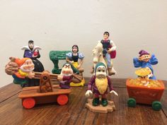 Snow White And The Seven Dwarfs 1992 by TaniastreasuresFinds