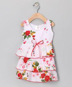 Pink Vintage Floral Havana Dress - Infant & Toddler | Daily deals for moms, babies and kids
