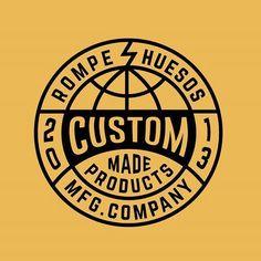 Custom badge. Curved type logo: Circle Logo Design, Badge Design, Typography Inspiration, Logo Design Inspiration, Typography Logo, Logos, Logo Archive, School Shirt Designs, Badge Logo