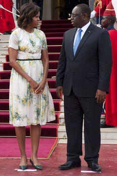 Michelle Obama's Best Dresses - Michelle Obama 50th Birthday Best Dresses - Harper's BAZAAR