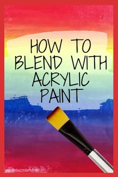 How to Blend with Acrylic Paint on Canvas Acrylic Art Tips and lessons for Beginners section of this image we present in our Pinteres account, you ca… - Moyiki Sites Canvas Painting Tutorials, Acrylic Painting For Beginners, Simple Acrylic Paintings, Acrylic Painting Techniques, Step By Step Painting, Creative Painting Ideas, Beginner Painting On Canvas, Wow Art, Acrylic Painting Canvas