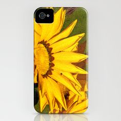 Gazania Oil Painting iPhone Case by Steve Purnell - $35.00