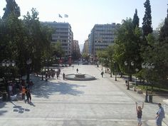 Syntagma Square (Greek: Πλατεία Συντάγματος) is located in central Athens, Greece. The Square is named after the Constitution that King Otto was forced to grant to the people, after a popular and military uprising on September 3, 1843. It is the oldest and socially most important square of post-Ottoman Athens, at the epicentre of all commercial activity throughout the 19th century.