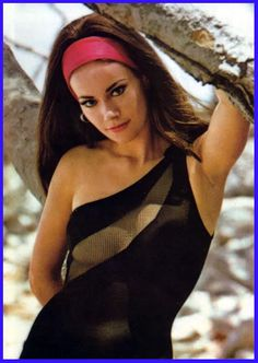 Claudine Auger as Domino in Thunderball