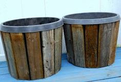Make The Best of Things: Pallet Wood Planter Covers Part 2