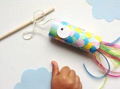 fabriquer un cerf volant japonais