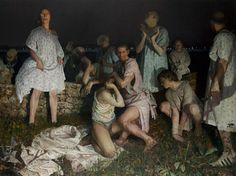 """This may be my new favorite painting of all time. """"I'Liberati"""" by Vincent Desiderio"""