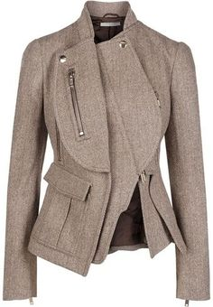 Givenchy Jacket Beige -- looks like something Olivia Pope would wear :]
