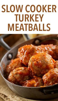 Slow Cooker Turkey Meatballs -- Toss these ingredients into a slow cooker in the morning and enjoy this high-protein recipe in the evening. It doesn't get much easier than this! // lunches // dinners // healthy // crock pot meals // beachbody // beachbody blog