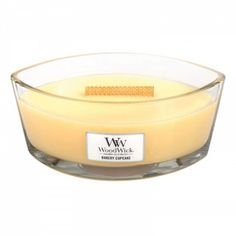 Bakery Cupcake HearthWick Flame Large Scented Candle by WoodWick