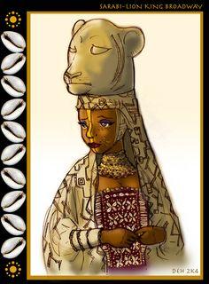 The Lion King Broadway art Lion King Simba's Pride, Lion King Musical, Lion King Broadway, Lion King Jr, Arte Disney, Disney Fan Art, Disney Characters As Humans, Lion King Costume, Photo To Cartoon