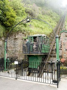 Would you dare to take a trip up the The Lynton & Lynmouth Cliff Railway? The Victorian railway is powered by water and is quite the experience!