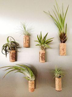 Tutoriel DIY: Créer de mini-vases magnétiques en bouchons de liège via DaWanda.com