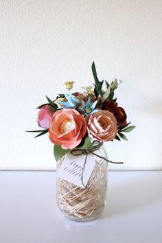 Paper Flower Bouquet — Handmade by Sara Kim