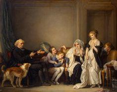 Veuve et son curé - >1750 (h/t)