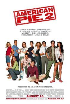 American Pie 2 2001 (Latino) Los protagonistas masculinos de la primera entrega, entonces obsesionados por perder la virginidad, se reencuentran en su pueblo natal tras su primer año en la universidad. Ha pasado un año, y Jim (Jason Biggs), Oz (Chris Klein), Kevin (Thomas Ian Nicholas) y Finch...