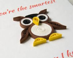 Image result for owl keychain quilling