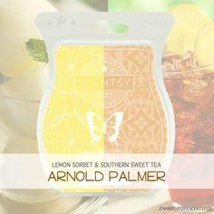 Arnold Palmer Scentsy Recipe www.greatscents2.com