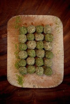 Detox Matcha Protein Balls. The Healthy Chef