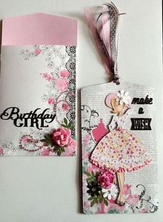 Just love this Lovely Lady Birthday card with the Julie Nutting Audrey doll stamp!