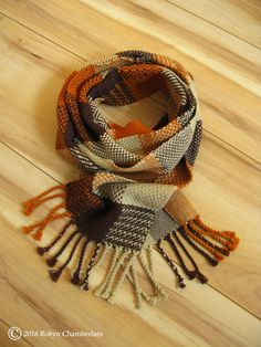 A Little This and That Hand Woven Scarf