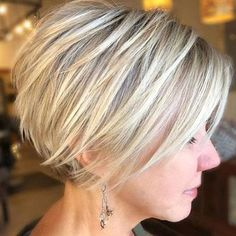 It is safe to say that you are tired of your thin hair failing looking limp and being troublesome Odds are youre simply picking the offbase cuts and styles for your hair type. The correct cut and Bob Hairstyles For Fine Hair, Short Hairstyles For Women, Short Haircuts, Pixie Hairstyles, Wedding Hairstyles, Hairstyle Short, Hairstyles 2016, Updo Hairstyle, Formal Hairstyles