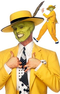 the mask costume based on 1940s zoot suits. This is what I'm thinking for halloween next year. Already thinking about next year lol