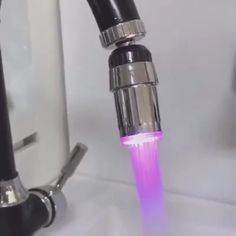 😎This Color Changing Water Faucet looks like a welding blowpipe spiting out fire Cheap Gadgets, Cool New Gadgets, Unique Gadgets, Home Gadgets, Cooking Gadgets, Home Tools, Diy Tools, Water Faucet, Collor