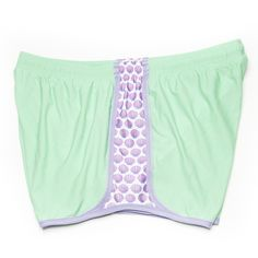 mint and shell nike shorts. perfect for monogramming.