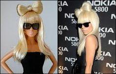 Lady Gaga as barbie,