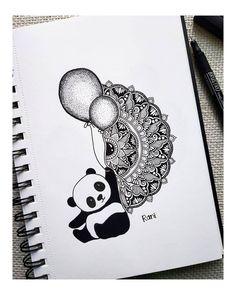 Cute Doodle Art, Doodle Art Designs, Doodle Art Drawing, Mandala Drawing, Mandala Art Therapy, Mandala Art Lesson, Mandala Artwork, Art Drawings Sketches Simple, Pencil Art Drawings