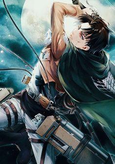 Shingeki No Kyojin Levi : shingeki, kyojin, SHINGEKI, KYOJIN, Attack, Titan, Levi,, Fanart