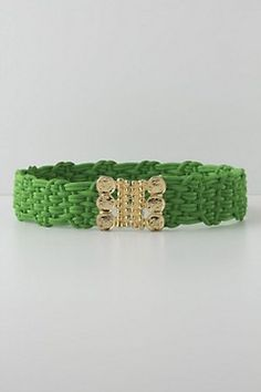 Braided Currency Belt