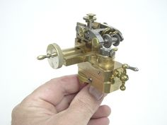 Gear Cutter by mesomachines -- Homemade gear cutter fabricated from brass and utilized to facilitate watch and clock making production tasks. http://www.homemadetools.net/homemade-gear-cutter
