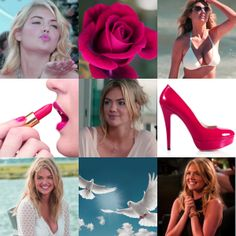 Kate Upton as Aphrodite, goddess of beauty, love, lust, desire, sexuality and pleasure. Lady of the Doves.