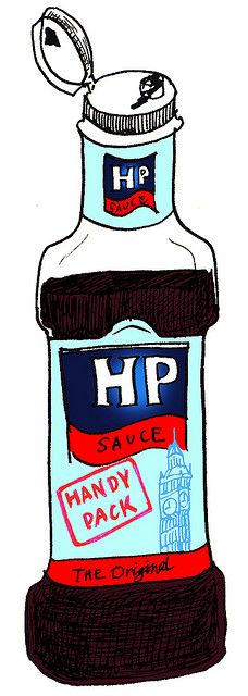 HP sauce by hwayoungjung, via Flickr