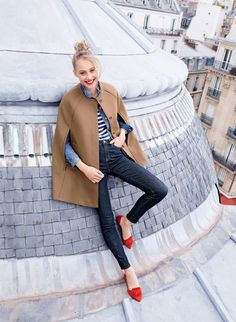 Travel Notes: Paris We shot our September Style Guide in Paris, and it's still as beautiful as the first time we laid eyes on it… Go behind the scenes here.