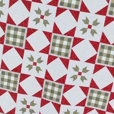 A close up of the Gingham Stars quilt....I think this is my all time favorite. Pattern will be in the Holiday Jolly book arriving soon at your local quilt shop and available from @fatquartershop! #fqsfun #fqsholidaywishes #thisandthatpatterns #modafabrics #showmethemoda #quilting #quiltersofinstagram #christmasquilt