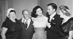 Ava Gardner & Frank Sinatra on their Wedding Day in 1951