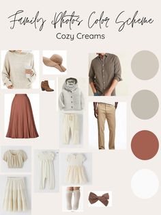 Planning Trendy but Affordable Fall Outfits Family Photography Outfits, Family Portrait Outfits, Clothing Photography, Family Photo Sessions, Heart Photography, Family Portraits, Spring Family Pictures, Big Family Photos, Family Photos What To Wear