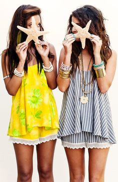 summer show my your mumu tank and shorts! cute summer style!