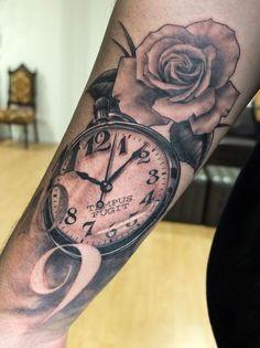 Statue tattoo by Xavier Garcia Boix, Tattoos by Xavier Garcia Boix Time Tattoos, Body Art Tattoos, New Tattoos, Tattoos For Guys, Cool Tattoos, Tatoos, Arm Tattoo, Sleeve Tattoos, Tattoo Art
