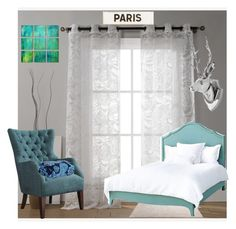 """""""paris hotel room"""" by lucid2022 ❤ liked on Polyvore featuring interior, interiors, interior design, home, home decor, interior decorating, Duck River Textile, ESPRIT, Redford House and Vera Bradley"""