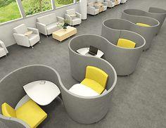 AGATI Furniture - Study Carrels - POD
