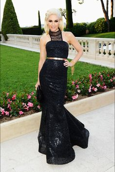 Gwen Stefani - Look of the Day - InStyle 2011 Cannes, Beautiful Dresses, Nice Dresses, Gwen Stefani Style, Gwen Stefani Fashion, Birthday Fashion, Glamour, Red Carpet Looks, Red Carpet Dresses