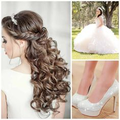 White Quinceanera | Quinceanera Ideas |