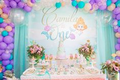 Bubble Guppies Themed Dessert Table from a Bubble Guppies Birthday Party on Kara's Party Ideas | KarasPartyIdeas.com (28)