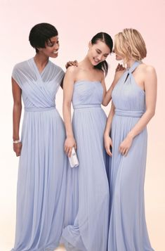 Shop Versa, the convertible bridesmaid dress at @DavidsBridal